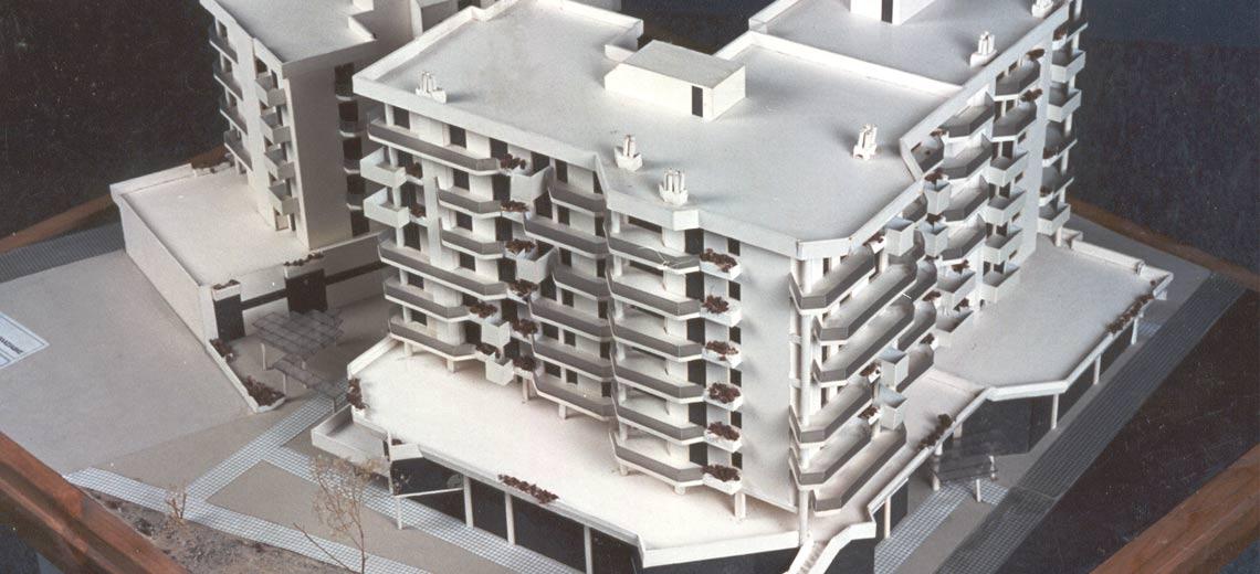 Συγκρότημα Οικοδομών, οδός Ηρώων Πολυτεχνείου, Λάρισα