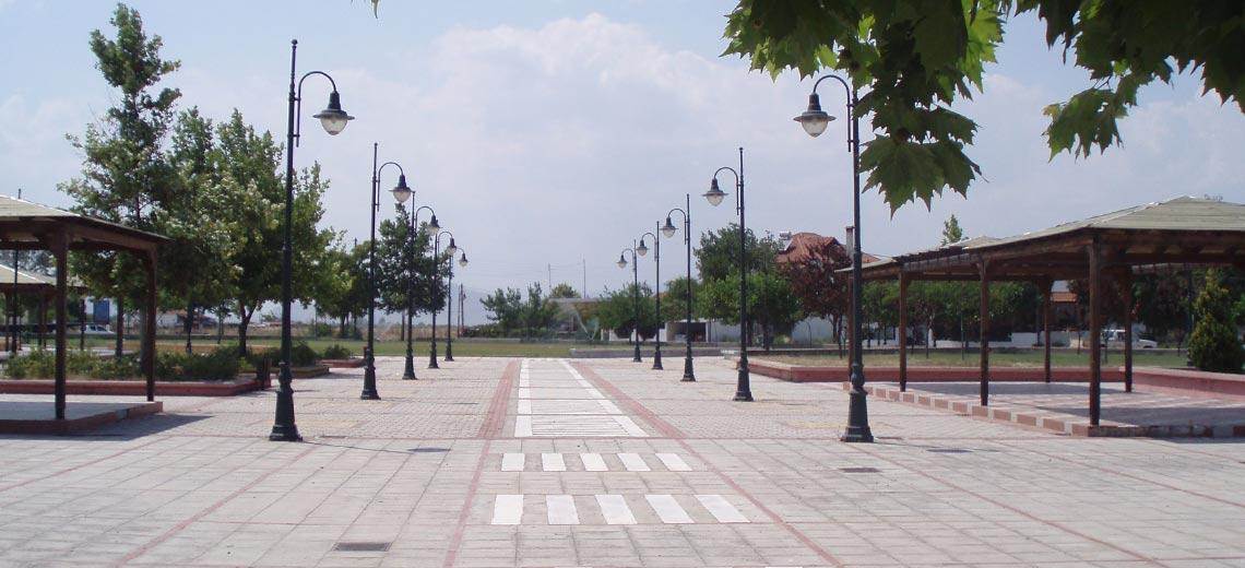 Ανάπλαση Κεντρικής Πλατείας, Φαλάνη, Λάρισα