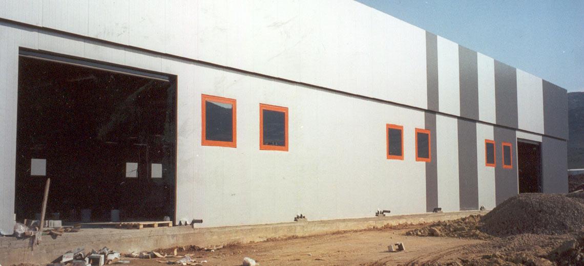 Printing shop, industrial area, Larissa