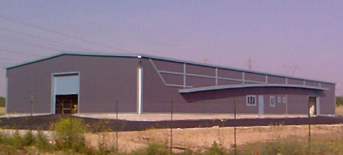 Βιομηχανικό κτίριο επεξεργασίας ξηρών καρπών, Νέα Λεύκη, Λάρισα